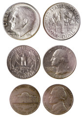 different old american coins