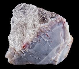 Agata mineral en bruto