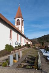 St. Roman Church closeup