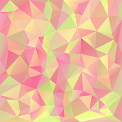 vector polygonal background triangular pastel spring colors