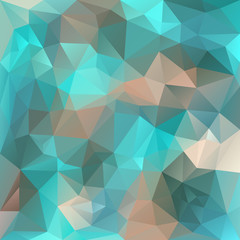 vector polygonal background triangular design blue