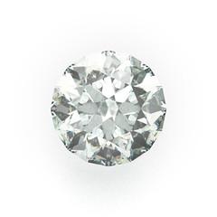 Diamond, Gemstone, isolated on White