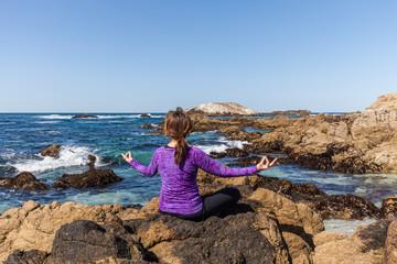 Meditation at the Coast