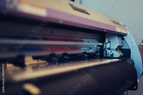 Leinwanddruck Bild Mimaki Printer