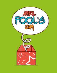 April fools day design.