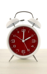 Daylight Saving Time concept alarm clock