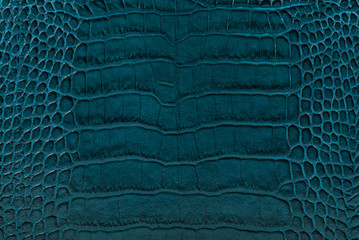 turquoise embossed leather texture background