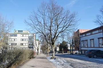 Street in Lappeenranta.