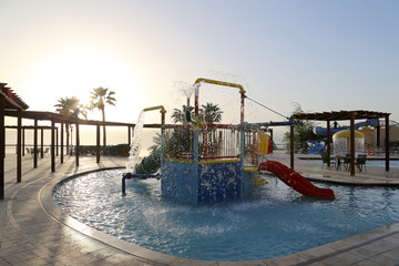Children's swimming pool, Dead Sea, Jordan