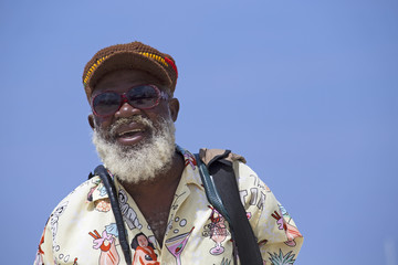 jamaican old man portrait