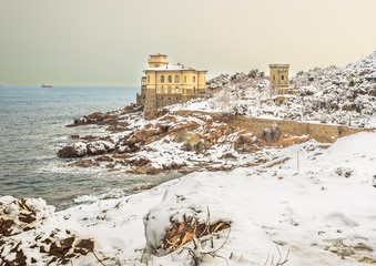 CNeve sul Castel Boccale