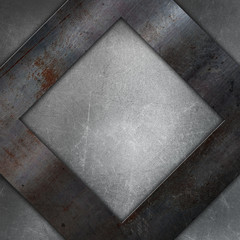 Abstract scratched metal background