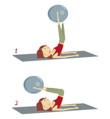 pilates fitball 2