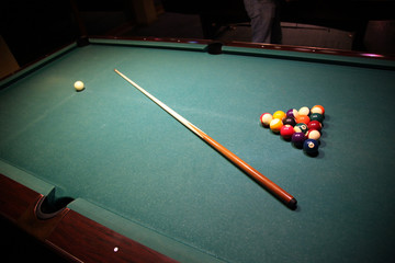 Hobby Billiard Spiel