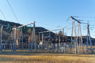 Norwegian transformer station