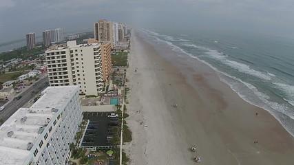 Aerial view of Daytona Beach Florida