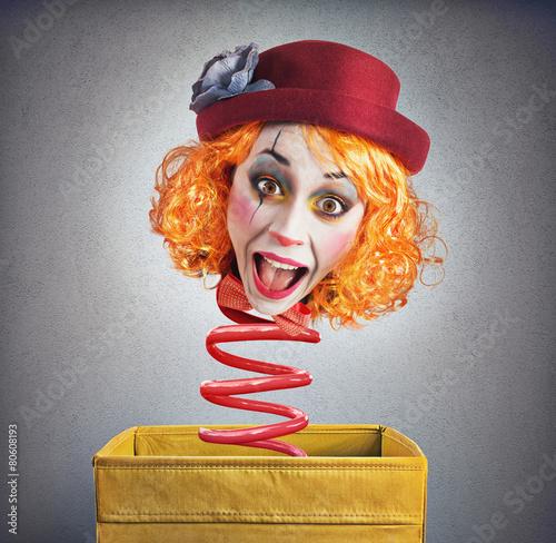 Magic box clown - 80608193