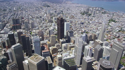 Aerial view of San Francisco Business Center
