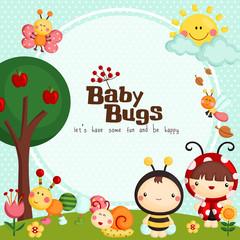 Baby Bugs Card