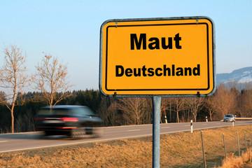Die Maut in Deutschland