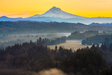 Mount Hood from Jonsrud viewpoint