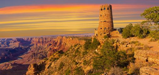 Desert View Point Watchtower