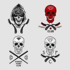Street fight skull