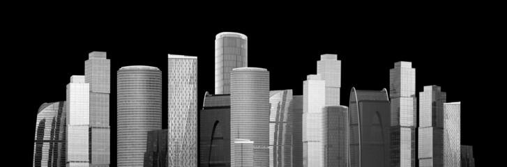 Moderne Großstadt