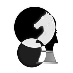 Creative chess symbol