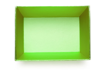 Empty green box
