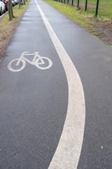 Bicycle lane in Potdam