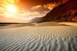 Zdjęcia na płótnie, fototapety, obrazy : Sunset at desert