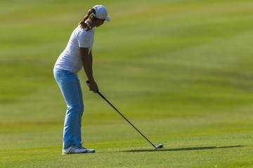 Golf Girl Fairway Play Action