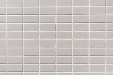 白いタイルの模様 背景用 White tile design background