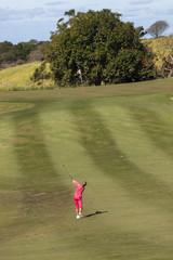 Golf Girl Action