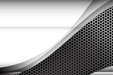 Metallic steel and honeycomb element background texture 003