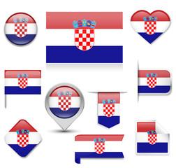 Croatia Flag Collection