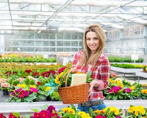 In der Gärtnerei (Ivana)