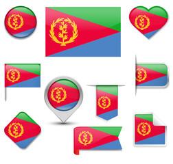 Eritrea Flag Collection