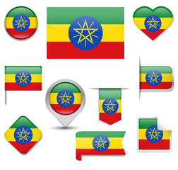 Ethiopia Flag Collection