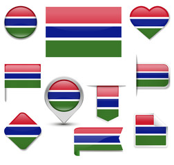 Gambia Flag Collection