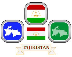 symbol of  Tajikistan