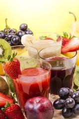 fresh fruit shake