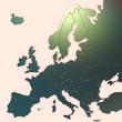 Mappa Europa 3D con texture