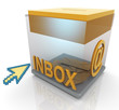 3d inbox and mouse pointer