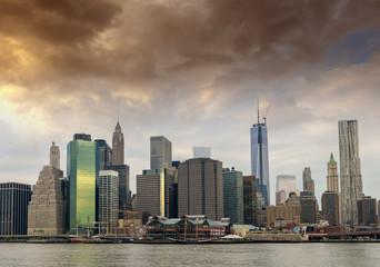 Lower Manhattan from Brooklyn - NYC