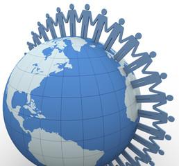 3d people global communication