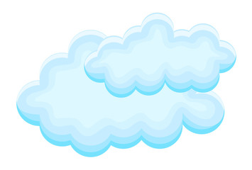 Abstract Clouds Design