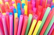 Pailles multicolore - 80628165