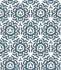 abstract geometric monochrome seamless pattern.